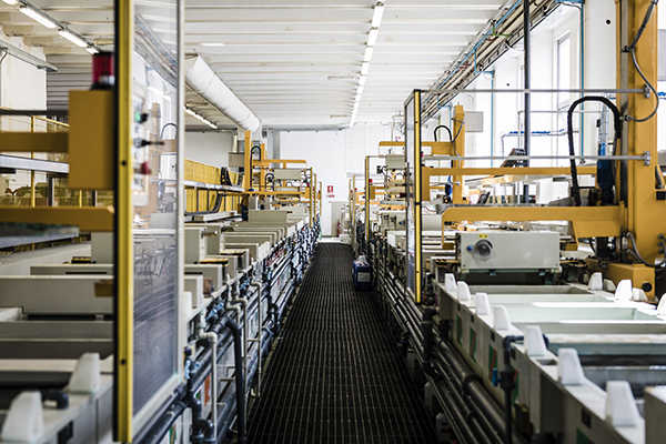 new production site in via zamenhof